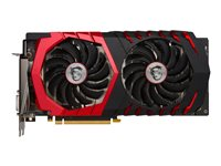 MSI GTX 1060 GAMING X 6G - Carte graphique - GF GTX 1060 - 6 Go GDDR5 - PCIe 3.0 x16 - DVI, HDMI, 3 x DisplayPort GEFORCE GTX 1060 GAMING X 6G