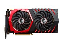 MSI GTX 1070 GAMING X 8G - Carte graphique - GF GTX 1070 - 8 Go GDDR5 - PCIe 3.0 x16 - DVI, HDMI, 3 x DisplayPort GEFORCE GTX 1070 GAMING X 8G